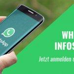 Unser neuer WhatsApp-Infoservice startet